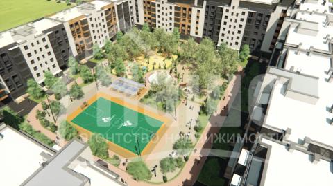 """1-комнатная квартира на ул.Сахарова в новом жилом комплексе класса """"Комфорт"""""""