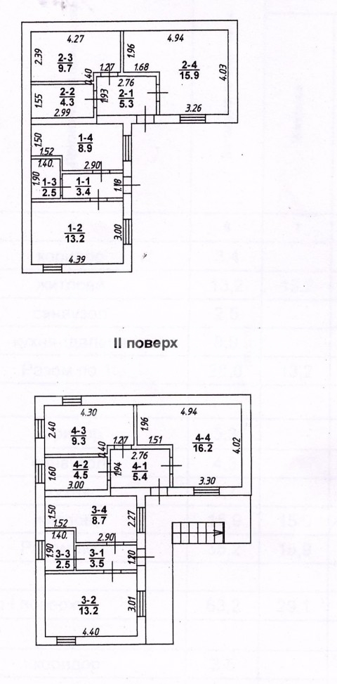 Коцюбинского/Ширшова. Дом на 4 квартиры