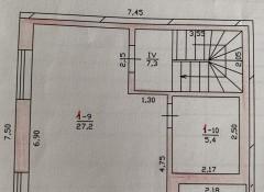 Двухэтажный таунхаус с ремонтом в ЖК Академический