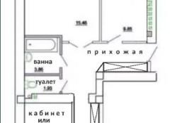Уютный двухэтажный дом в Большой Долине