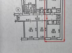 2-комнатная квартира в коммуне на ул.Люстдорфская дорога/Краснова